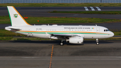 TU-VAS - Airbus A319-133X(CJ) - Ivory Coast - Air Force