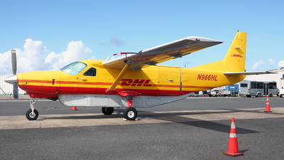 A picture of N966HL - Cessna 208B Super Cargomaster - DHL - © Angel Natal