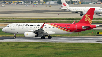 A picture of B8635 - Airbus A320232 - Shenzhen Airlines - © F3E1988