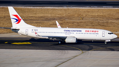 B-1910 - Boeing 737-89P - China Eastern Airlines