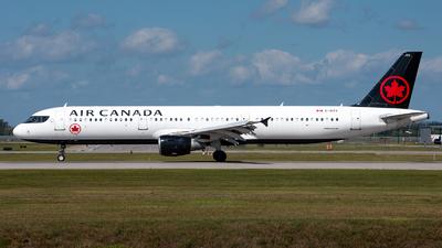 C-GITY - Airbus A321-211 - Air Canada