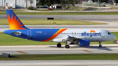 N274NV - Airbus A320-216 - Allegiant Air