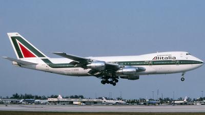 I-DEMS - Boeing 747-243B - Alitalia