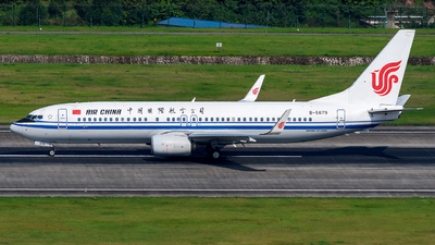 B-5679 - Boeing 737-89L - Air China