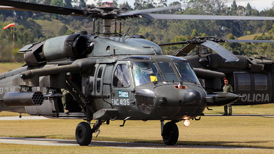 FAC4135 - Sikorsky UH-60 Blackhawk - Colombia - Air Force