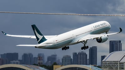 A picture of BLXM - Airbus A3501041 - Cathay Pacific - © RWY.MNL