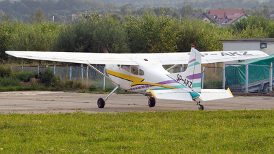 SP-AKZ - Cessna 185A Skywagon - Aero Club - Kielce