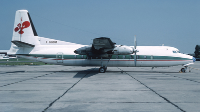 F-GGDM - Fairchild-Hiller FH-227B - Uni Air