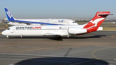 VH-YQS - Boeing 717-2BL - QantasLink