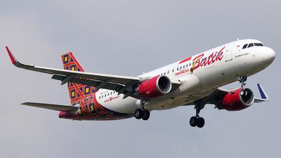 PK-LUV - Airbus A320-214 - Batik Air