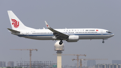 A picture of B7181 - Boeing 73789L - Air China - © lixing