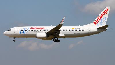 EC-HZS - Boeing 737-86Q - Air Europa