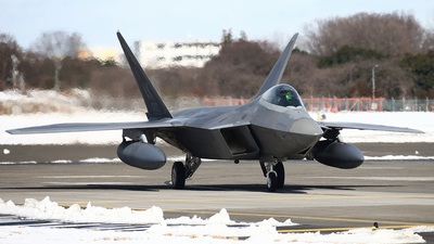 06-4112 - Lockheed Martin F-22A Raptor - United States - US Air Force (USAF)