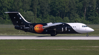 G-ZAPK - British Aerospace BAe 146-200(QC) - Titan Airways