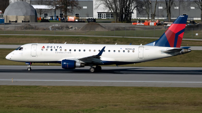 A picture of N204JQ - Embraer E175LR - Delta Air Lines - © mariaLXY