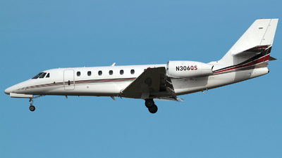 N306QS - Cessna 680 Citation Sovereign - NetJets Aviation