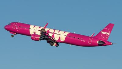 TF-DAD - Airbus A321-211 - WOW Air