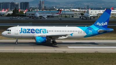 9K-CAO - Airbus A320-214 - Jazeera Airways