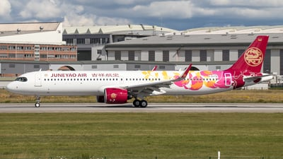 D-AVYW - Airbus A321-271NX - Juneyao Airlines