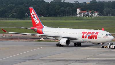 PT-MVD - Airbus A330-223 - TAM Linhas Aéreas