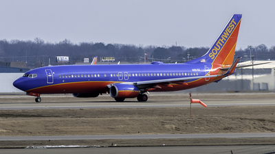 N8615E - Boeing 737-8H4 - Southwest Airlines