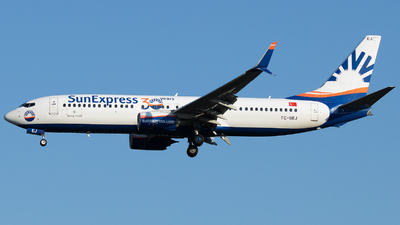 A picture of TCSEJ - Boeing 7378HC - SunExpress - © Stefan Bayer