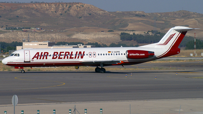 D-AGPB - Fokker 100 - Air Berlin