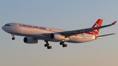 A picture of TCJNJ - Airbus A330343 - Turkish Airlines - © Mikhail Tkachuk