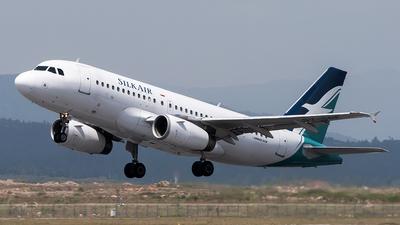 9V-SBE - Airbus A319-132 - SilkAir