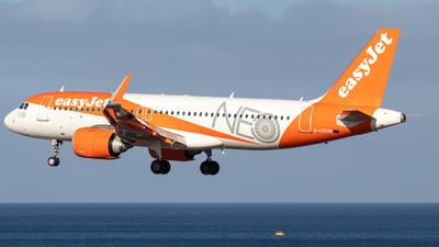 A picture of GUZHB - Airbus A320251N - easyJet - © Niklas Engel