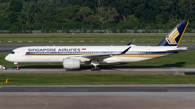 A picture of 9VSHD - Airbus A350941 - Singapore Airlines - © Sua Ding Zhe