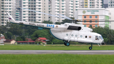 RDPL-34250 - Mil Mi-17-1V Hip - BNPB - Indonesian National Board for Disaster Management
