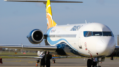 A picture of 9ABTE - Fokker 100 - Trade Air - © C. v. Grinsven