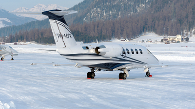 PH-MYX - Cessna 650 Citation VII - Air Service Liège (ASL)