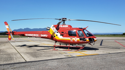 PR-HGR - Eurocopter AS 350B2 Ecureuil - Brazil - Military Firefighters