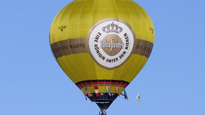 D-OZAC - Schroeder Fire Balloons G34/24 - Warsteiner Happy Ballooning Team