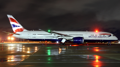 A picture of GZBKR - Boeing 7879 Dreamliner - British Airways - © Agustin Anaya