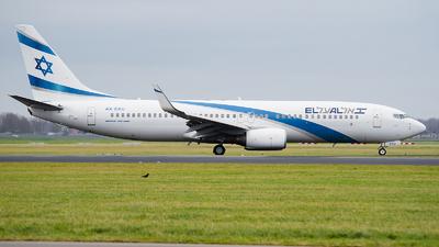 A picture of 4XEKU - Boeing 7378Z9 - El Al - © Ricardo de Vries
