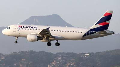 PR-MYQ - Airbus A320-214 - LATAM Airlines