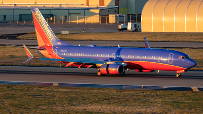 A picture of N8634A - Boeing 7378H4 - Southwest Airlines - © Sweet Potato