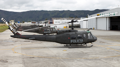 PNC-0745 - Bell UH-1H Huey II - Colombia - Police