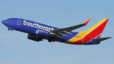 A picture of N745SW - Boeing 7377H4 - Southwest Airlines - © Connor Cummings