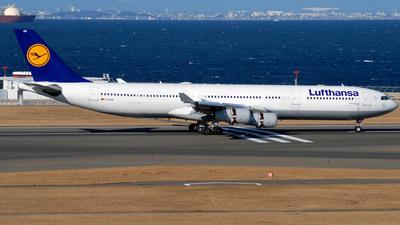 D-AIGM - Airbus A340-313X - Lufthansa