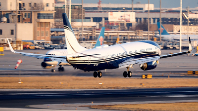 HZ-ATR - Boeing 737-9FGER(BBJ3) - Al Atheer Aviation