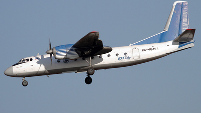 RA-46494 - Antonov An-24RV - UTair Aviation