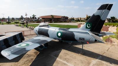 1626 - Canadair CL-13B-6 Sabre - Pakistan - Air Force