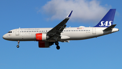 A picture of EISIH - Airbus A320251N - SAS - © Ferenc Kolos