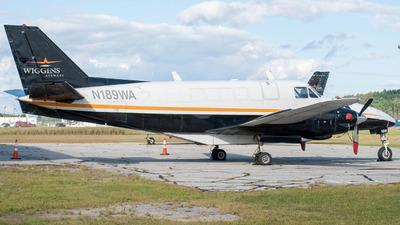 N189WA - Beech C99 Airliner - Wiggins Airways