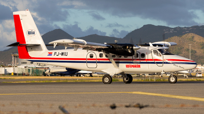 PJ-WIU - De Havilland Canada DHC-6-300 Twin Otter - Winair - Windward Islands Airways