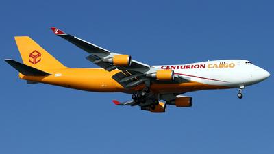 LX-KCV - Boeing 747-4R7F(SCD) - Centurion Air Cargo